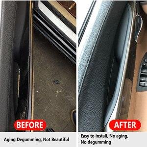 Image 2 - Poignées intérieures de porte de voiture pour BMW, pour série 7, f01, f02, porte avant, arrière, gauche ou droite, barre de poignée, revêtement dhabillage