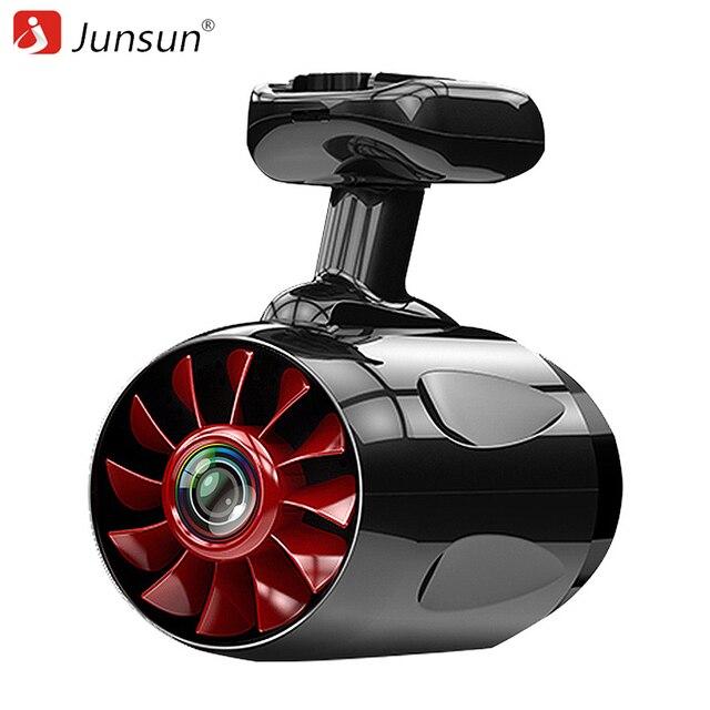 Junsun ambarella a12 wifi سيارة دفر dashcam أداس ldws سوبر fhd 1296 وعاء لقطة فيديو مسجل gps اللاسلكية النائية كاميرا