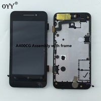 800 480 LCD Display Panel Screen Monitor Touch Screen Digitizer Glass Assembly With Frame For Asus
