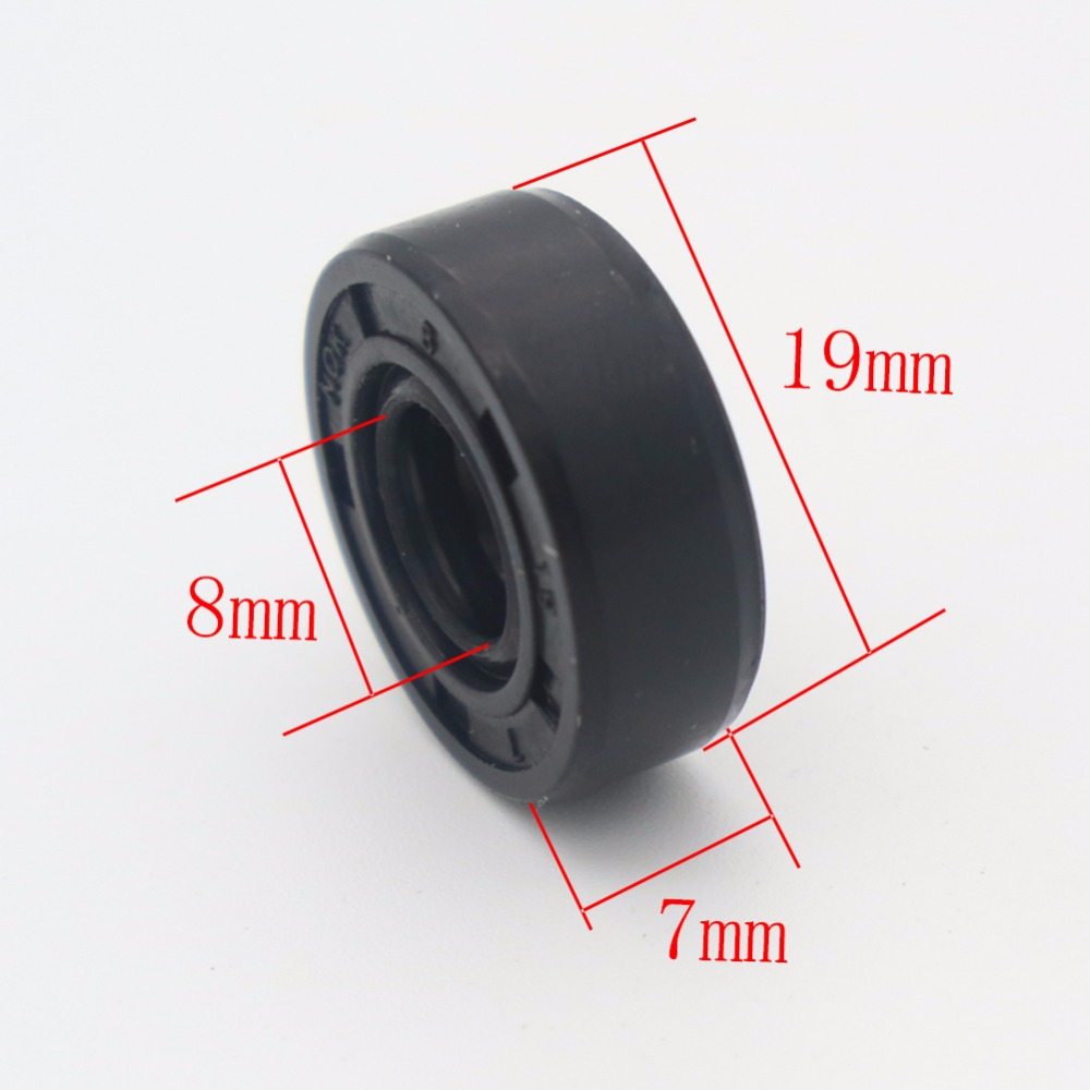Wearable Breadmaker Sorbet Machine Blender Accessories Repair Parts 19mm*8mm*7m Oil Seal Ring For Lg Samsung Philips...