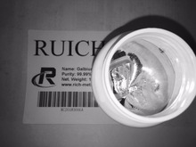 Gallium metal 1000 grams, 99.99% pure, RUICHI, by Changsha Rich Nonferrous Metals Co.,Ltd