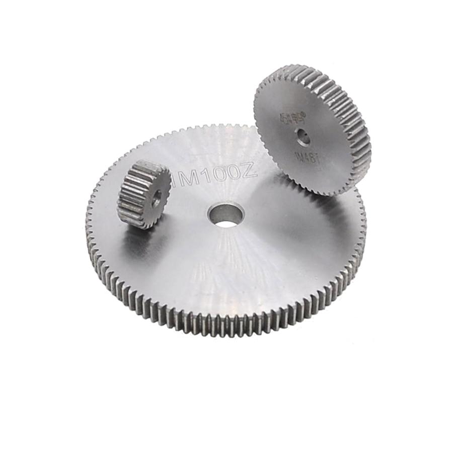 1 Mod 130T Spur Gear #45 Steel Motor Pinion Gear Outer Dia 132mm x 1Pcs