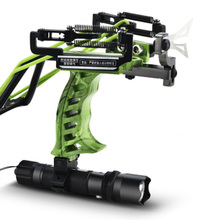 2019 High Quality Laser Slingshot Black Hunting Bow Catapult Fishing Outdoor Powerful for Shooting Crossbow