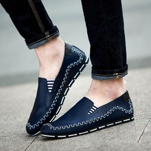 New Spring Summer Men Shoes Causal Breathable Comfortable Drivers Zapatos Sapatos Flats Man Shoes P85