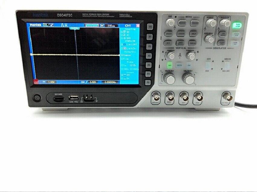 Hantek DSO4072C цифровой осциллограф 2CH, 70 мГц, Scopemeter мультиметр, генератор сигналов, внешний триггер Scopemeter