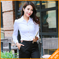 2017 spring new OL commuter Slim  conjoined blouses long-sleeved shirt #4064