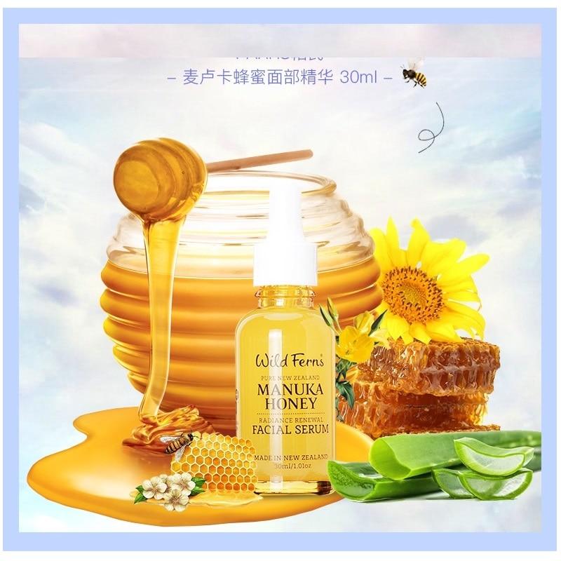 NewZealand Parrs Manuka Honey Royal Jelly Bee Pollen Radiance Renewal Facial Serum Regenerate Nourishing Moisturizing Skin Care
