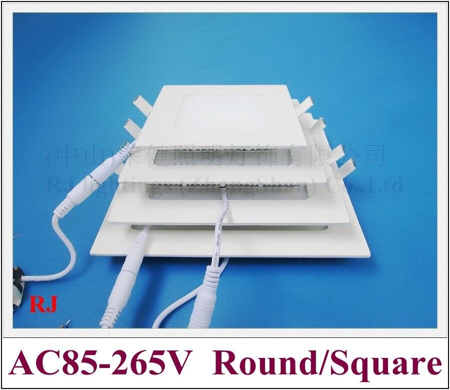 LED panel light flat lamp square downlight 120X120 6W 150X150 9W 170X170 12W 200X200 15W 225X225