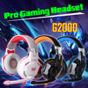 KOTION EACH G2000 Pro Gaming Headphone Each G2000 3 5mm Gaming Headphone LED Earphone Mic Heavy