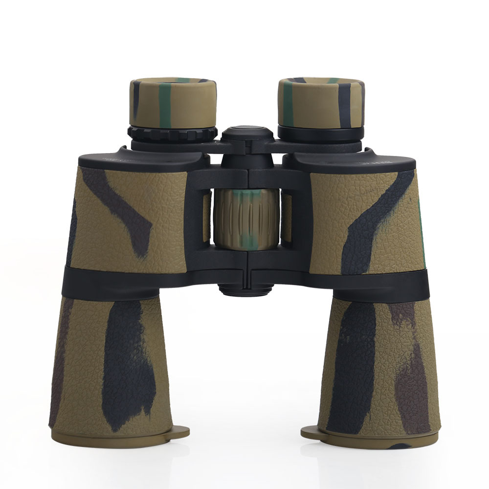 BIJIA Marine Series 7x50 Russia Military Standard Classic Binoculars Ultra Wide Angle Field Glasses For Hunting Travel