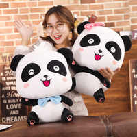 BabyBus 22/35/50cm Cute Panda Plush Toys Hobbies Cartoon Animal Stuffed Toy Dolls for Children Boys Baby Birthday Christmas Gift
