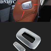 DNHFC ABS Chrome Copilot Seat Adjust Switch Trim For Land Rover Range Rover Sport HSE 2014 2017 Range Rover Vogue