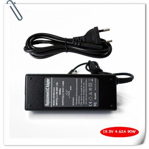 Зарядное устройство блок питания для HP PPP012A-S PPP012D-S PPP012C-S PPP012L-E 19.5 В 4.62A 4.5 мм * 3.0 мм смарт-контактный шнур питания