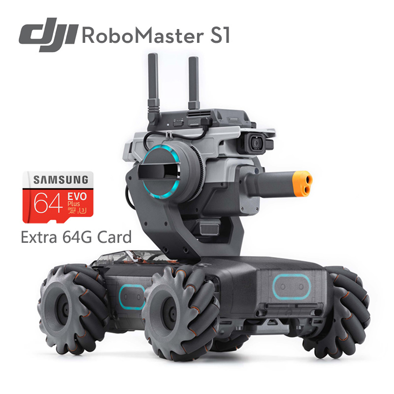 DJI Shooting-Game Robot Coding Intelligent Educational Support Programming Python Individual-Recognition