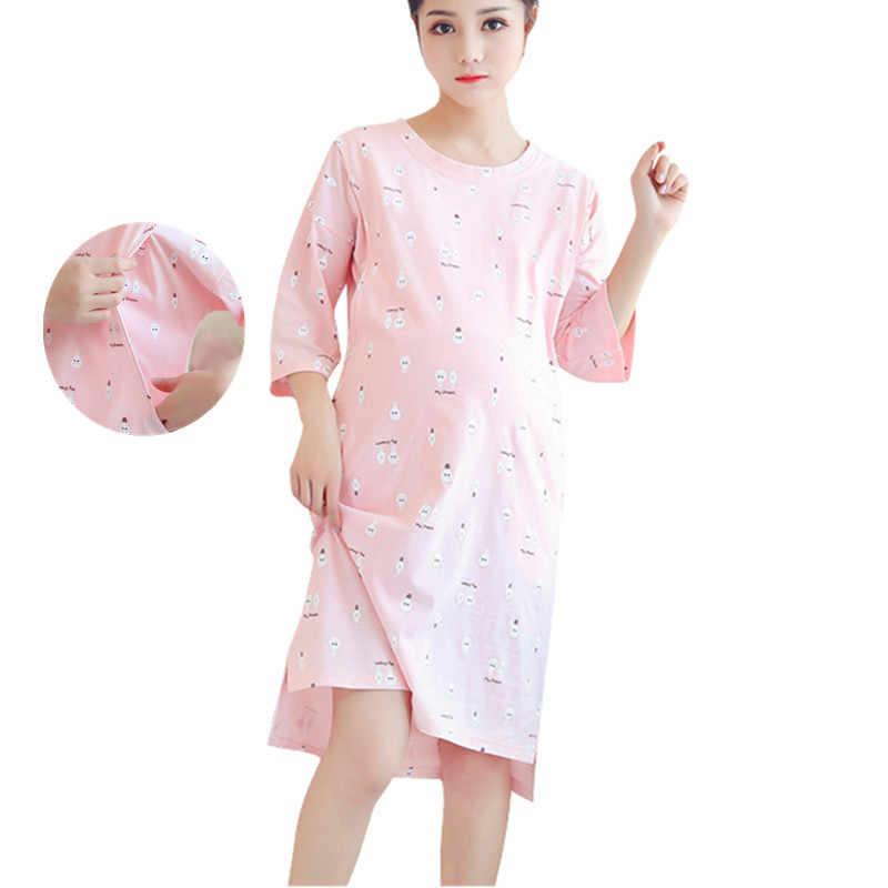 a0a2d1d434b57 ... Breastfeeding Nursing Nightgowns For Nursing Mothers Breast Feeding  Nightdress Summer Pregnancy Maternity Night Dress on Aliexpress.com |  alibaba group