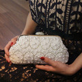 2017 Trend Pearl Day Clutch Lady Evening Bag Bride Small Banquet Purse Chain Mini Handbag High Quality Shoulder Bag