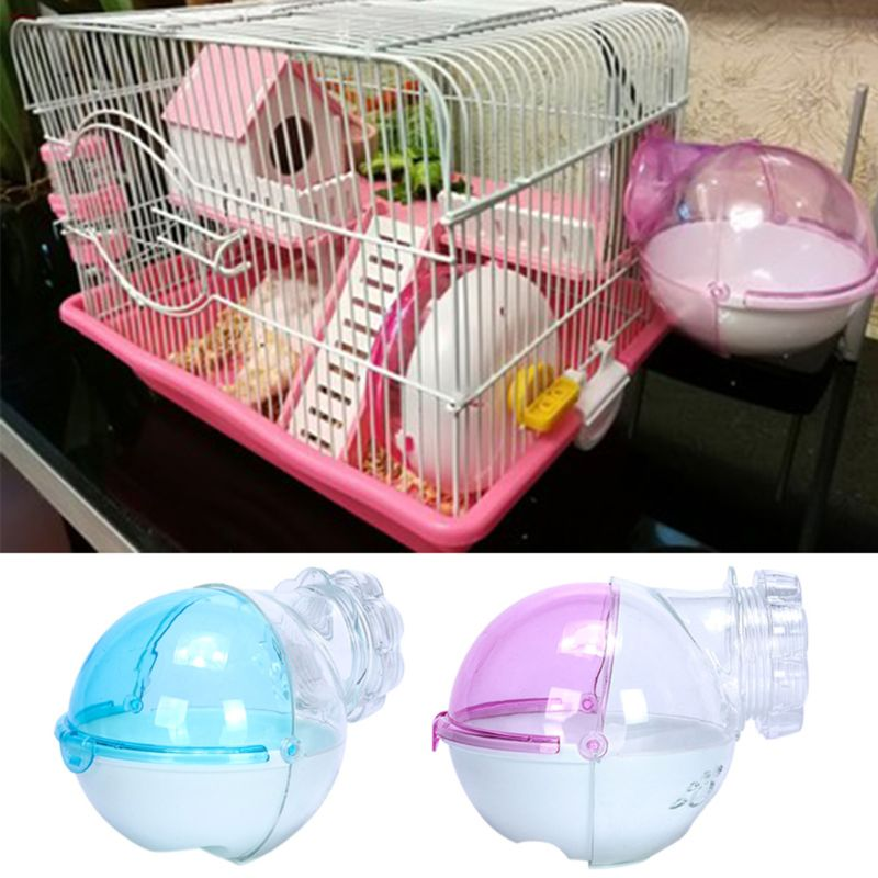 Hamster Mouse Pet Bathroom Cage Box Bath Sand Room Toy Toilet Small Pet Supplies