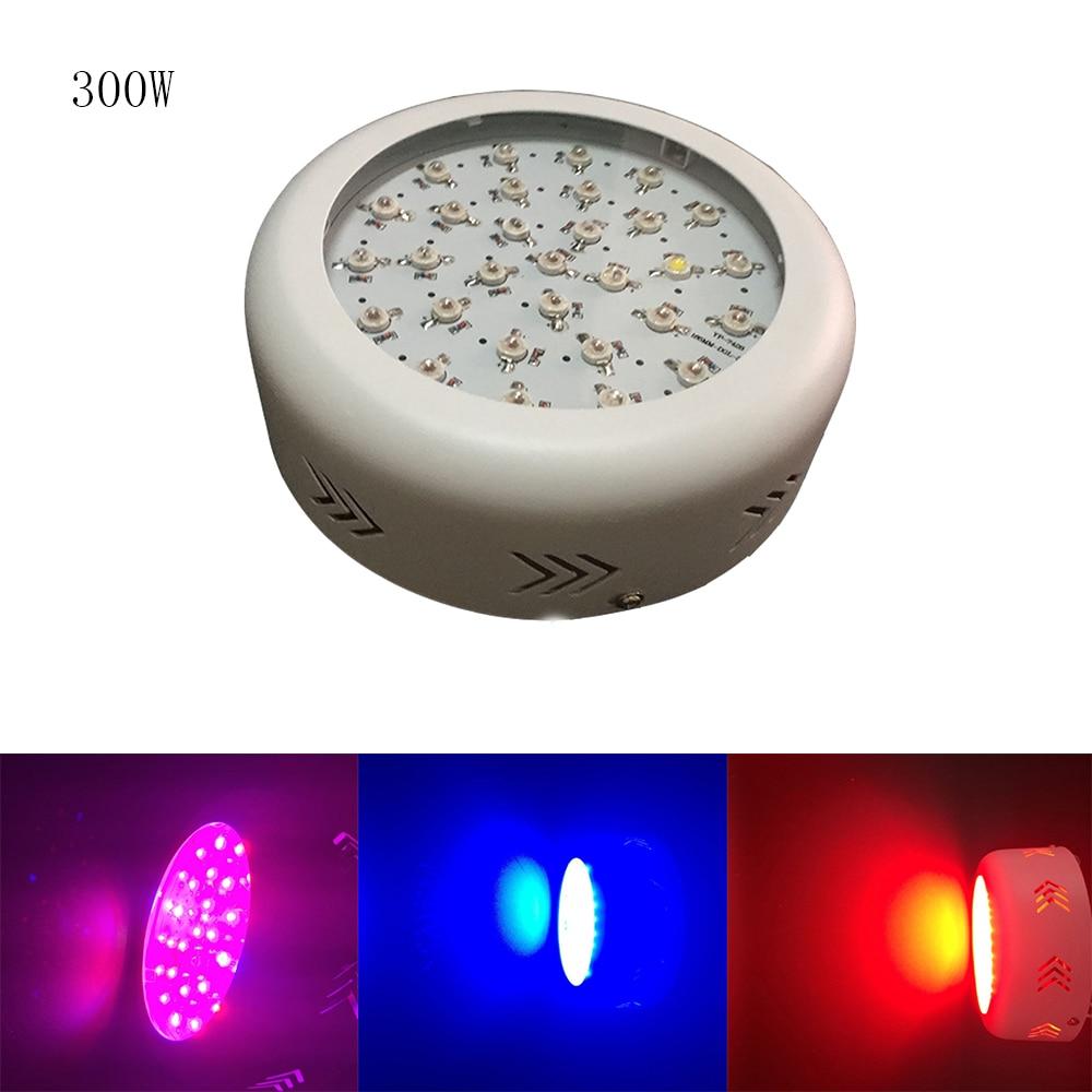 Hydro 300W Full Spectrum LED Grow Lights UFO Plant Grow Light for Veg Flowering tyr hydro light