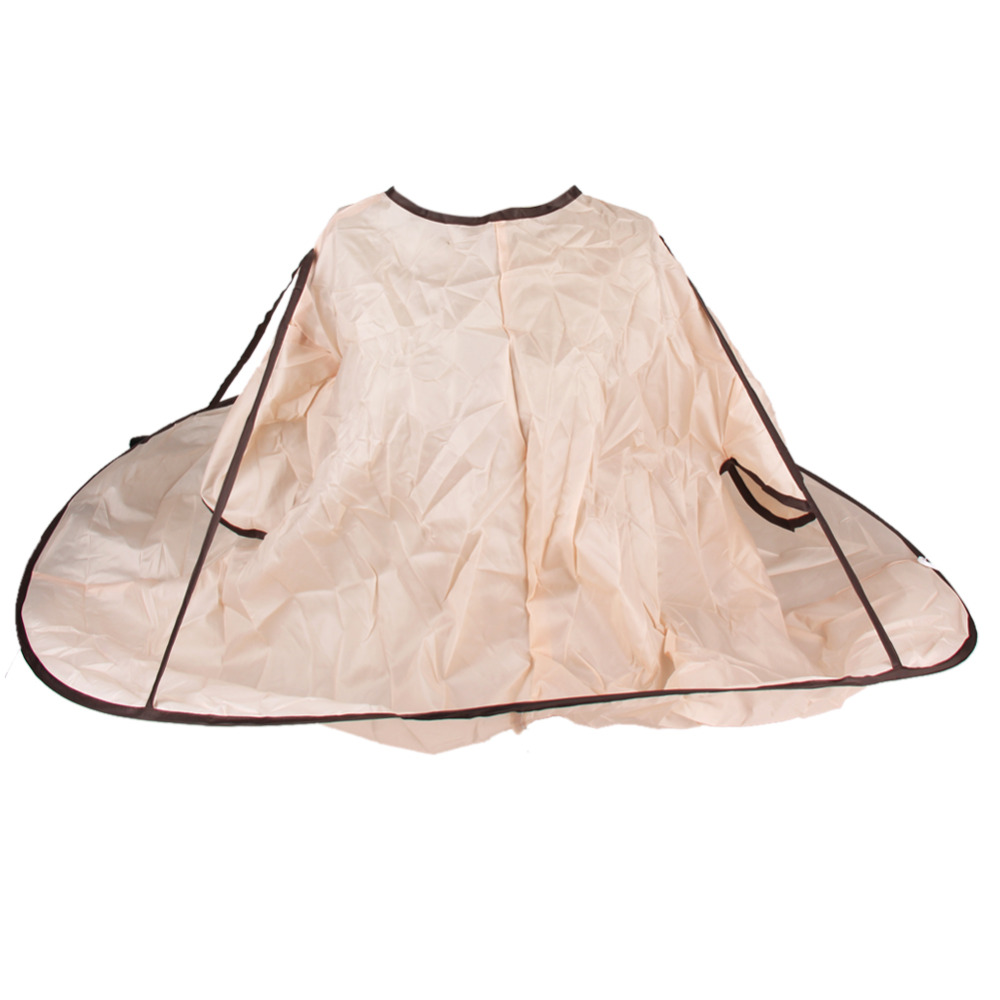 1pcs Haircut Gown Waterproof Adult Hair Cutting Fold Umbrella Capes Salon Barber Hairdressing Gown Apron Haircut Styling Tools