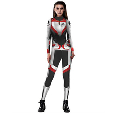 PLstar Cosmos FASHION Women Girls The Avengers 4 Endgame Quantum Realm Superhero Marvel Cosplay apparel Jumpsuits