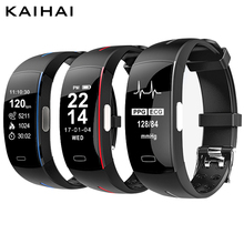 KAIHAI smart Fitness Bracelet watches tracker blood pressure heart rate monitor Phone Reminders Pedometer band Alarm