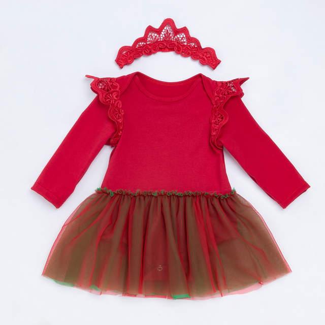 Rode Jurk Met Mouwen.Online Shop Yk Loving Rode Jurk Baby Meisjes Romper Voor
