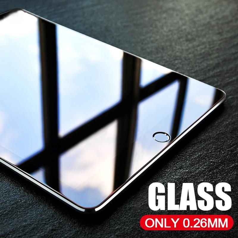 NAGFAK מגן זכוכית על Apple iPad mini 1 2 3 4 אוויר 2 iPad 2/3/4 פרו מזג מסך מגן 2.5D קצה זכוכית אוויר 2 סרט