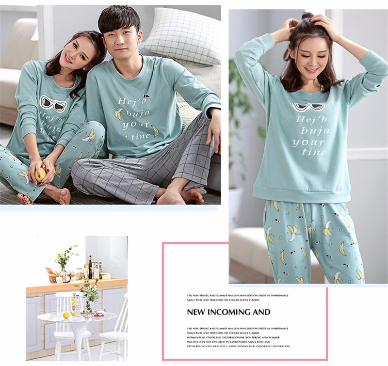 lovers pajamas couple sleepwear 07