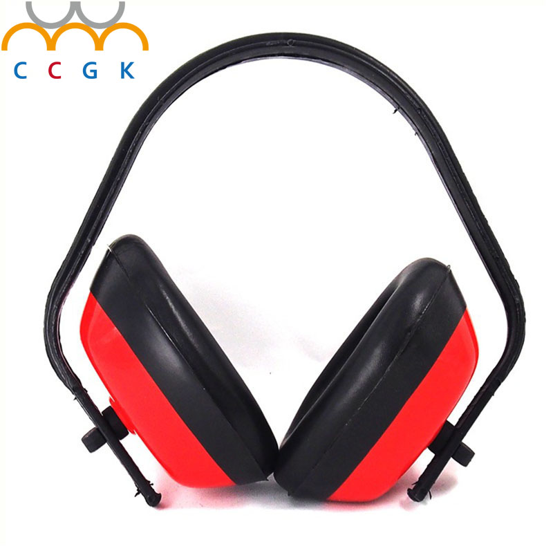 CCGK Protection Ear Muff Ear Protectors Noise Reduction Soundproof Earmuffs Sleep Headset Hearing Protection 26 db Adjustable industrial noise soundproof earmuffs sleep study noise muffler labor protection shot silence