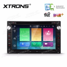 "XTRONS 2 Din 7"" Android 6.0 Octa Core Car DVD Player for vw Jetta LUPO Polo CHICO T5 Multivan Transporter SEAT SKODA Peugeot 307"