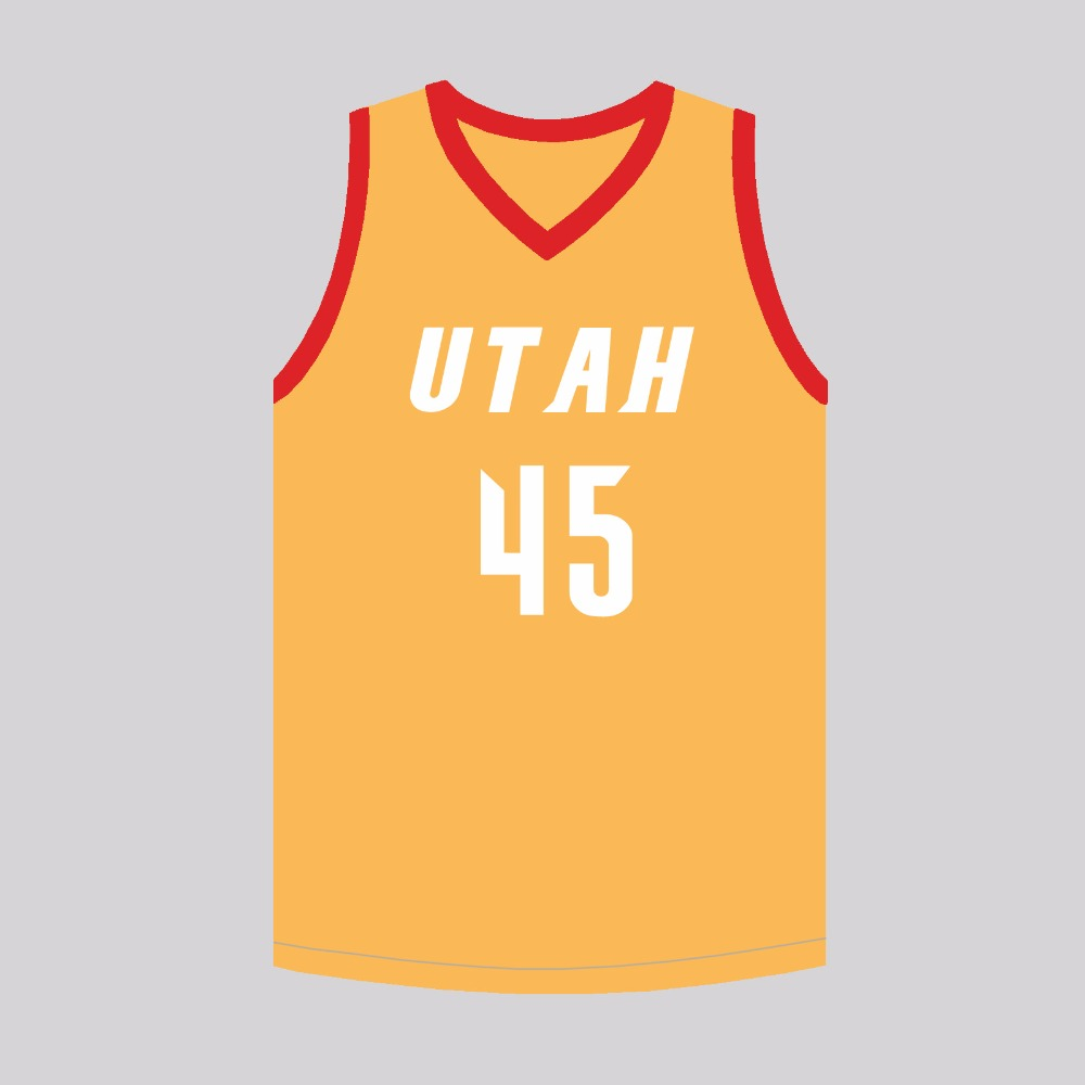MM MASMIG Donovan Mitchell  45 Utah Basketball Jersey Stitched Orange S M L  XL XXL XXXL 269cbc88bbfd