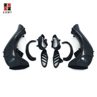 ZXMT Ram Air Intake Tube Duct Pipe Cover Fairing for Yamaha YZF1000 YZF R1 2004 2005 2006