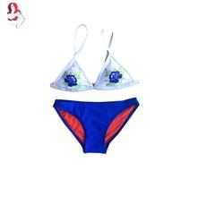 8507f38d3b56b UCHIHA LQ New Sexy Bikini 2017 Hand Printing Hollow Embroider Chinese Biquini  Bikini Women Swimwear Junior