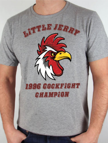 a0caebb36 Seinfeld Little Jerry Cock Fight Kramer Sitcom Del Boca Vista Funny Grey T  Shirt Cool Casual pride t shirt men Unisex Fashion-in T-Shirts from Men's  ...