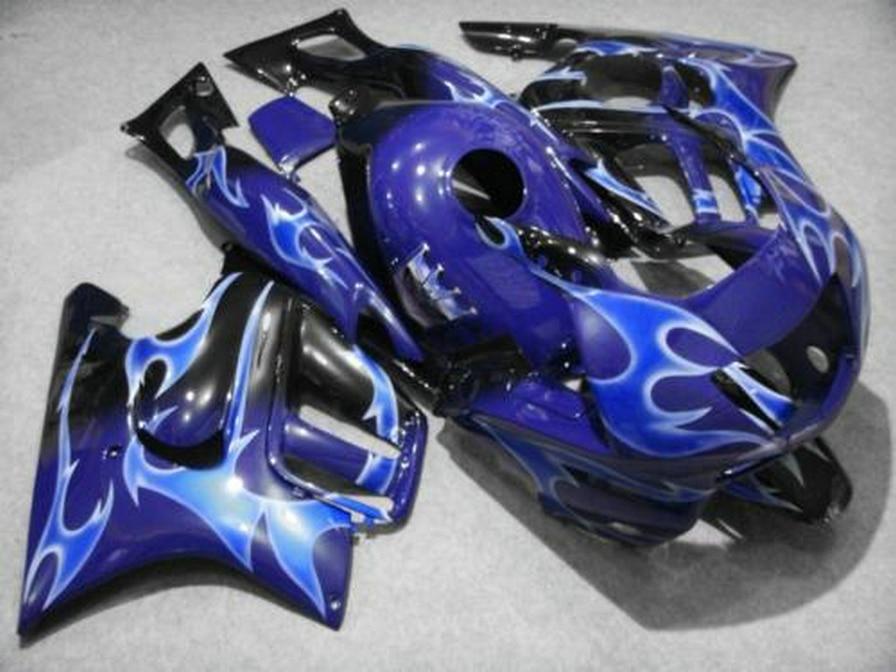 New hot moto parts Fairing kit for Honda CBR600 F3 97 98 blue fairings set CBR600 F3 1997 1998 FV27 new hot moto parts fairing kit for honda cbr1000rr 06 07 white blue injection mold fairings set cbr1000rr 2006 2007 ra14
