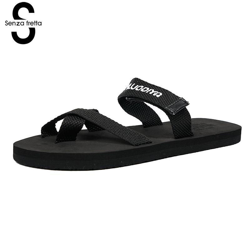 Senza Fretta Woman Summer Shoes Beach Sandals Women Flip Flops Casual Soft Sandals Non-slip Flip Flops Sandals Flat Sandals оскар за толерантность и терпение