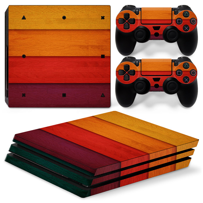 free drop shipping Custom design decal for PS4 Pro vinyl decal skin sticker#TN-P4Pro-0727