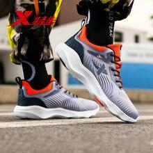 XTEP 2016 Running Shoes for Men Fashion Men Trainers Training Shoes Athletic Sports Shoes Men's Rubber Sneakers 985419119907 цена в Москве и Питере
