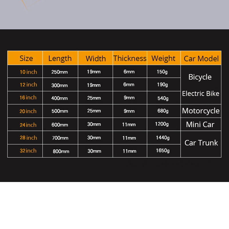 Image 2 - 1Pc Tire Iron Set Remove Tyre Tools Motorcycle Bike Professional Tire Change Kit  Crowbar Spoons Pry Bar Pry Rod