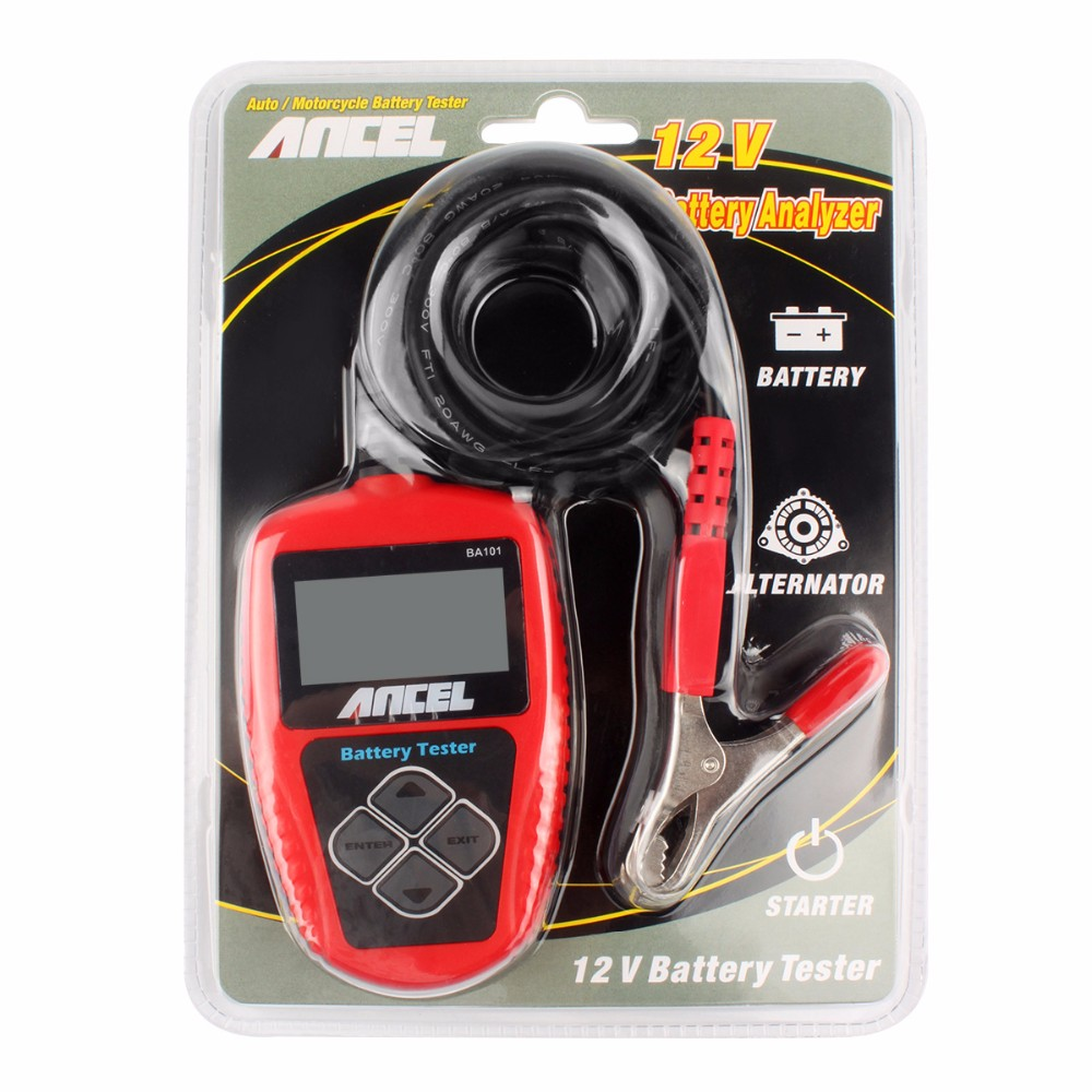12V Car Battery Tester Ancel BA101-16