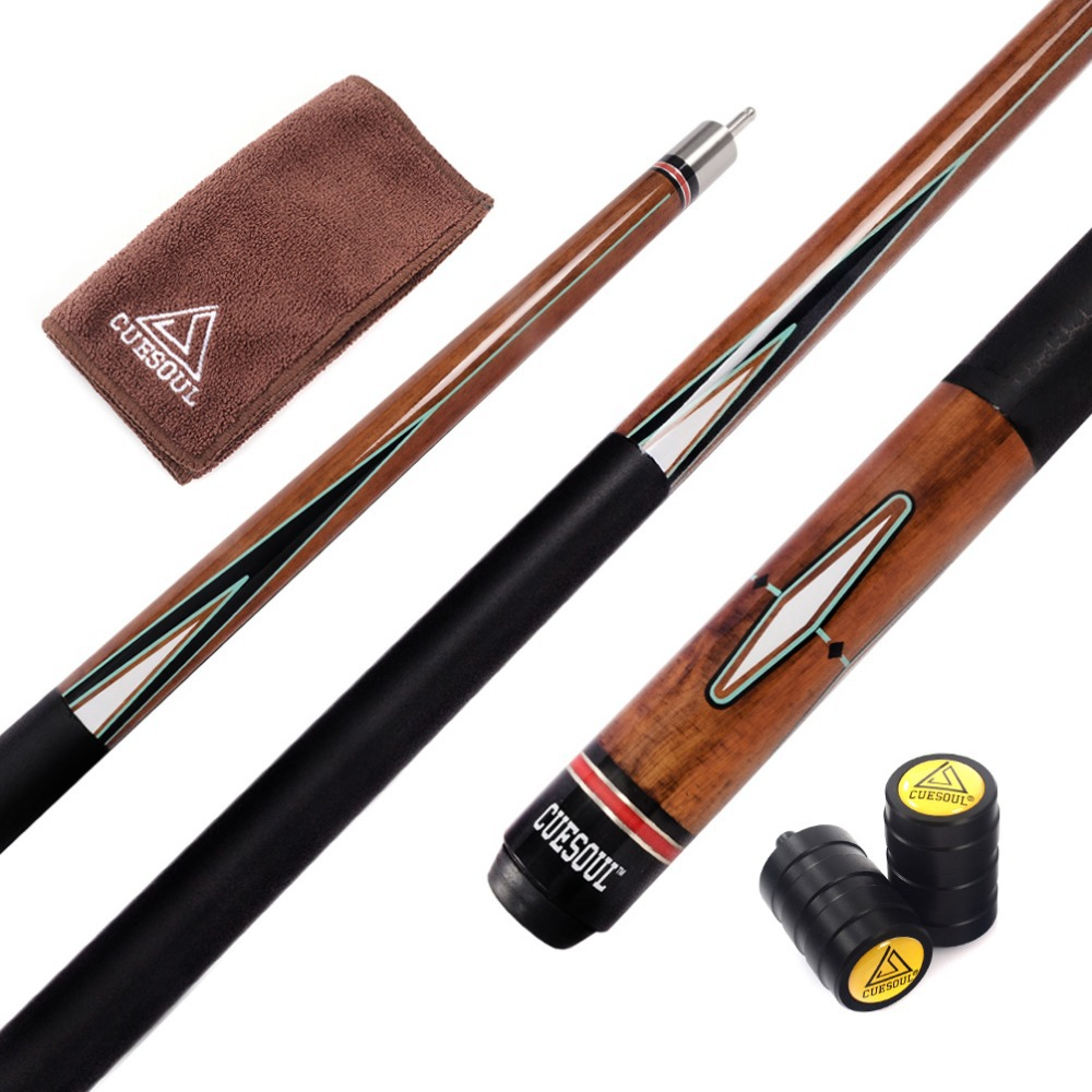 Cuesoul Center Jointed Pool Cue Billiard Cue 57 Inch 21