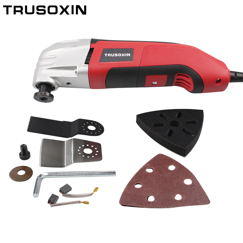 Power electric Tools Multifunction Finisher Home Planer Cutter Trimmer Woodworking Oscillating Tools Shovel Swing Tool free shipping domestic woodworking high power electric tool portable electric planer
