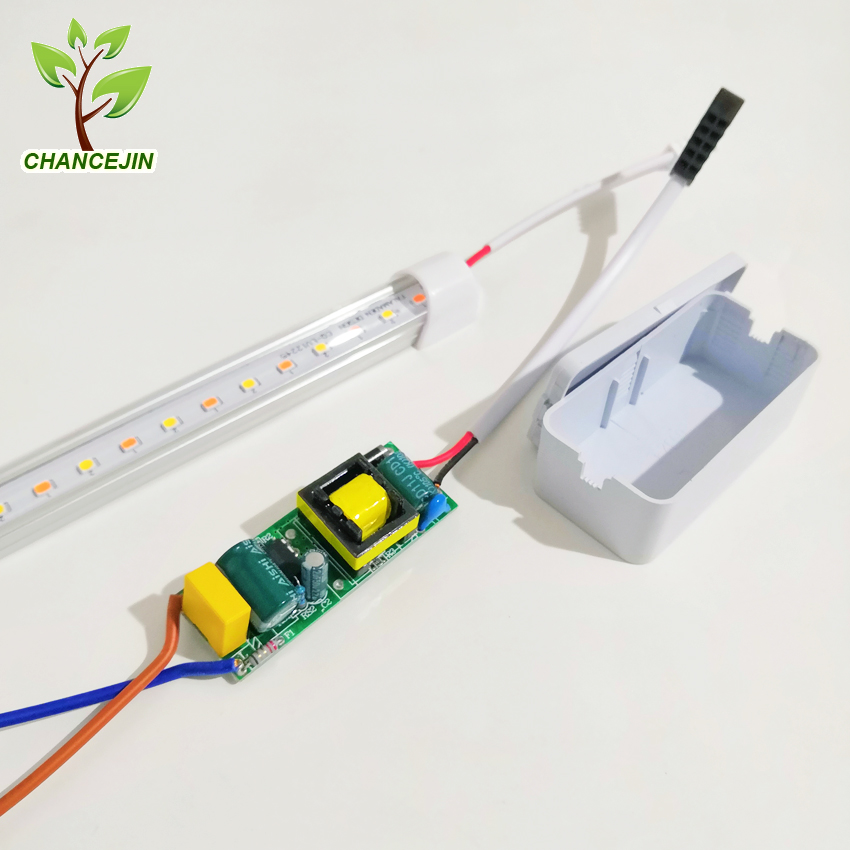 Image 5 - 12W 54cm LED grow light 26 full spectrum white LEDs+26 pink LEDs 1000lm plants lamp widely used in aquarium fruit vegetable etc.-in Growing Lamps from Lights & Lighting
