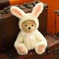 Мишка мягкие Плюшевые Игрушки Куклы Совместное медведь Повернулся белый кролик лося панда полноценно плюшевые игрушки для детей день рождения подарок