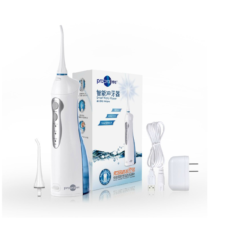 Nuova Smart Denti cure Odontoiatriche Orale Irrigator Acqua Lavabile Ad Alta pressione Elettrico jet di Impulso di acqua a basso rumore 110 V-240 V