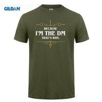 GILDAN 임블리입니다 DM Dungeon 마스터 DnD D & Dungeons 및 드래곤 영감 남성 t 셔츠
