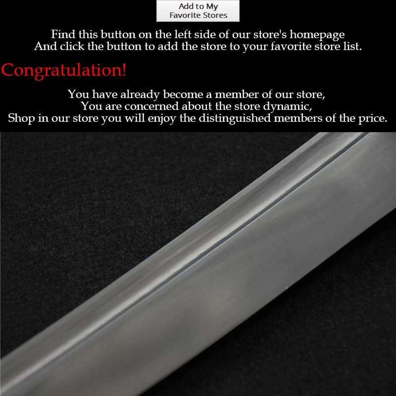 Real Japanese Katana Sword 1095 Full Handmade Japanese Katana Sword - Heminredning - Foto 5