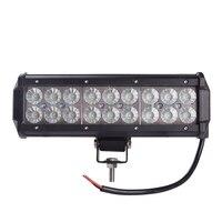 9inch 54W Cree LED Light Bar Spot Flood Combo Beam Offroad Light 12V 24V Work Lamp