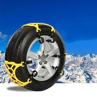 CARPRIE New 1PC Winter Truck Car Easy Installation Snow Chain Tire Anti Skid Belt TPU Comfortable