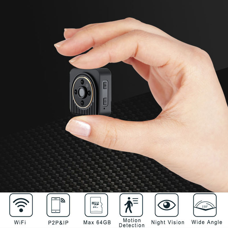 цены  BabyKam HD 720P WiFi IP Cam Wearable Mini DV Action Camera Motion Sensor Bike Body Camera with Magnetic Clip Micro Video Cam